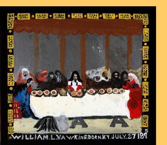 William Hawkins Last Supper