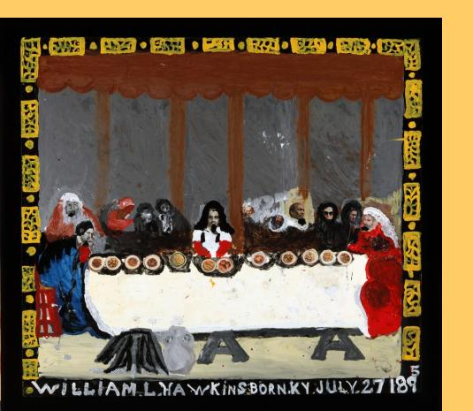William Hawkins Last Supper