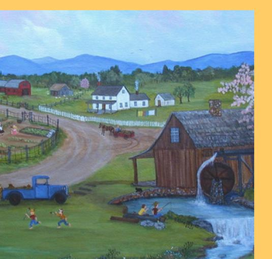 Memories of Appalachia: Paintings by Arlee Mains